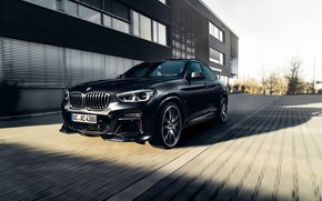 Picture machine, movement, lights, BMW, drives, crossover, AC Schnitzer, BMW X4, grille, G02
