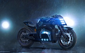 Picture Motorcycle, Jason Tonks, CUSTOM COLD FUSION MOTORCYCLE, Bike Concept