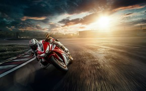Picture photo, speed, motorcycle, bike, hondа