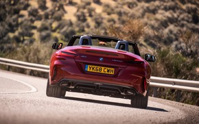 Picture red, BMW, Roadster, feed, BMW Z4, M40i, Z4, 2019, UK version, G29