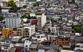 Picture Home, The city, Japan, Landscape, Nagasaki, Street