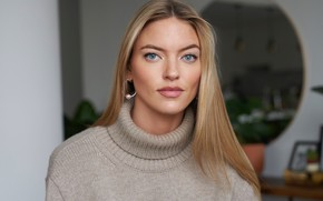 Picture look, model, hair, makeup, hairstyle, model, hair, look, Victoria's Secret, makeup, Martha Hunt, Martha Hunt, ...