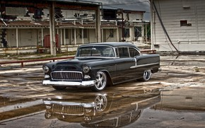 Picture Chevrolet, Bel Air, Coupe, Vehicle