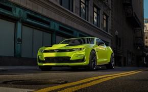 Picture Chevrolet, Camaro, Camaro SS, front view, 2018, Shock Concept