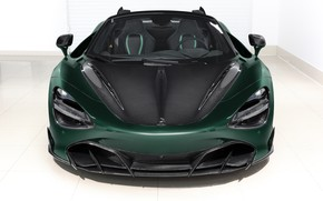 Picture McLaren, supercar, front view, Spider, Ball Wed, Fury, 2020, 720S