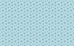 Picture snowflakes, background, pattern, graphics, texture