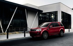 Picture red, Land Rover, 2012, crossover, Freelander, SUV, Freelander 2, LR2, Freelander 2 Sport Limited Edition