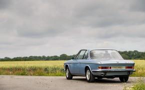 Picture Road, BMW, Bumper, 1971, Classic car, BMW 3.0 CSi (E9)