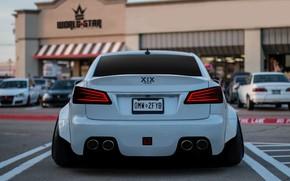 Picture Auto, White, Lexus, Machine, Parking, Lexus IS, Transport & Vehicles, by Hammad XIX, Hammad XIX, …
