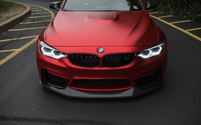 Wallpaper BMW, Light, RED, Angry, F80, LED