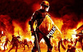 Picture Urban Chaos: Riot Response, first-person shooter video game, The first-person shooter