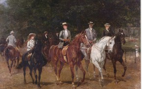 Picture white, black, walk, brown, riders, girl on a horse, HHardy, riding