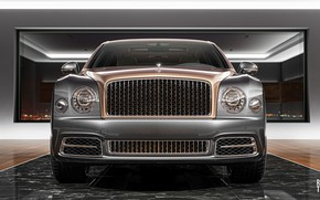 Picture Auto, Bentley, Machine, Lights, Rendering, The front, Bentley Mulsanne, Mulsanne, Transport & Vehicles, by Damian …