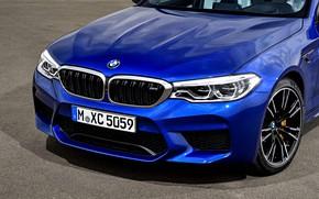 Picture BMW, sedan, the front part, BMW M5, 2017, M5, F90