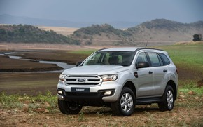 Picture Ford, valley, Everest, 4WD, 2015, gray-silver, XLS
