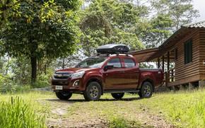 Picture trees, Chevrolet, pickup, hut, Isuzu, 2020, D-Max, 2021, Hi-Ride