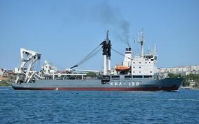 Picture ship, the black sea, cable layer