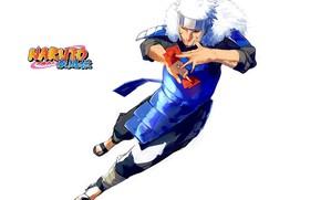 Picture armor, running, helmet, art, ninja, Naruto Shippuden, print, naruto shippuuden, Masashi Kishimoto, My Tobira Senju