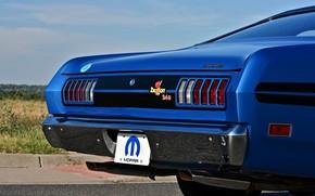 Picture Dodge, Ass, Blue, Logo, Old, Muscle car, Mopar, Demon, Vehicle, Dodge Demon GSS