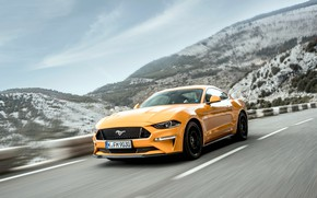 Picture speed, Ford, Fastback, Mustang GT