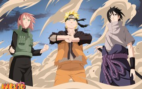 Picture Naruto, Naruto, team 7