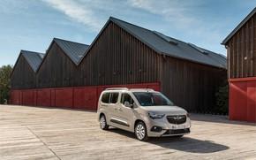 Picture photo, Opel, Car, Van, Turbo D, 2018-19, Combo Life XL