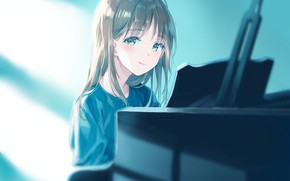 Picture anime, girl, suzumi konbu