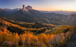 Picture autumn, mountains, nature