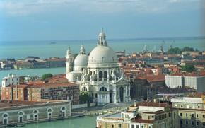 Picture Italy, panorama, Venice, Cathedral, Basilica, Santa Maria della Salute