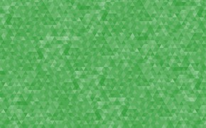 Picture abstraction, background, pattern, green, geometry, triangle