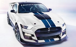Picture Mustang, Ford, Shelby, GT500, Hennessey, 2020, Venom 1000