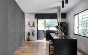 Picture design, interior, kitchen, Loft LD