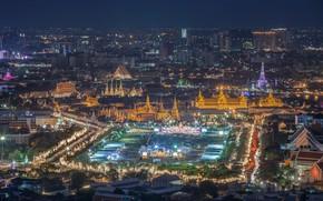 Picture the city, panorama, Thailand, Bangkok
