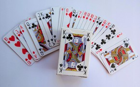 Picture card, the game, deck
