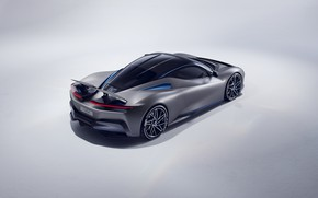Picture supercar, rear view, hypercar, Pininfarina, Batista, 2019