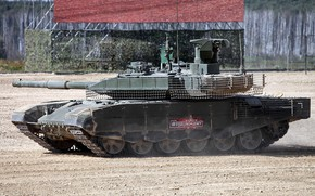 Picture Tank, polygon, Main battle tank Russia, T-90M, an upgraded version of the tank, demonstration of …
