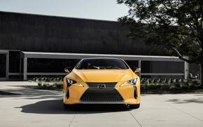 Picture Lexus, front view, LC 500, 2019, Inspiration Concept