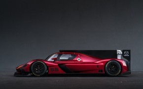Picture Profile, Mazda, Drives, Sports car, 2017, Sportprototip, 24 Hours of Daytona, Mazda RT24-P, Endurance race