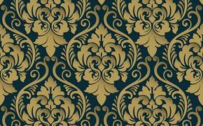 Picture retro, pattern, vintage, Royal