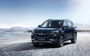 Picture photo, Blue, Car, Buick, Crossover, 2019, Encore GX
