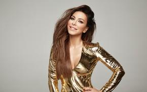 Picture look, pose, smile, figure, actress, neckline, singer, TV presenter, Ani Lorak, composer, hair, model, Ani …