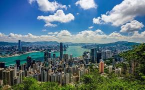 Picture the sky, clouds, Hong Kong, morning, Hong Kong