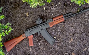 Picture weapons, gun, weapon, custom, Kalashnikov, assault rifle, assault Rifle, AK 74, Kalashnikov, ak 74