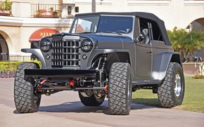 Picture custom, 4x4, offroad, 1950, mike warn 1950 willys jeepster tim divers, JEEPSTER, WILLYS