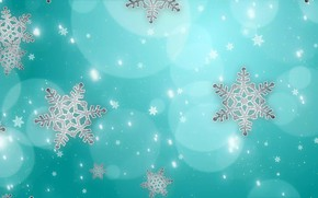 Picture circles, snowflakes, background, goboy