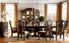 Picture style, room, interior, dining room