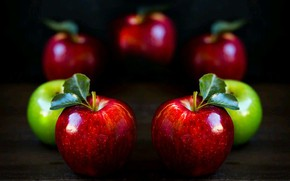 Picture light, still life, fruits, shadows, apples