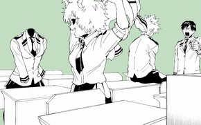 Picture class, characters, students, Academy, My Hero Academia, Boku No Hero Academy, My Hero Academy