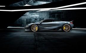 Picture McLaren, supercar, side view, Vorsteiner, 2018, 720S, Silverstone Aero Program