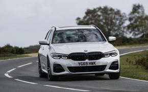 Picture turn, BMW, 3-series, universal, 3P, 2020, UK version, G21, 330i Touring